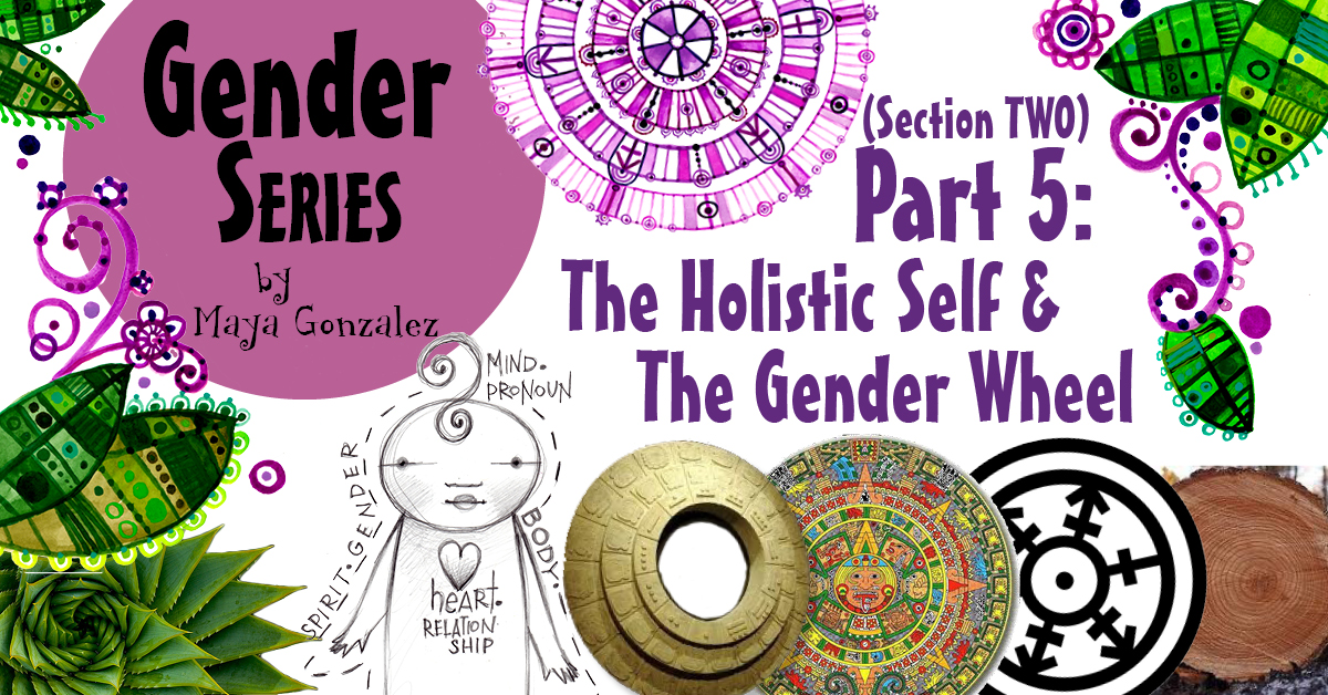 5 Part Gender Series - Part 5-Section2: The Holistic Self & The Gender Wheel