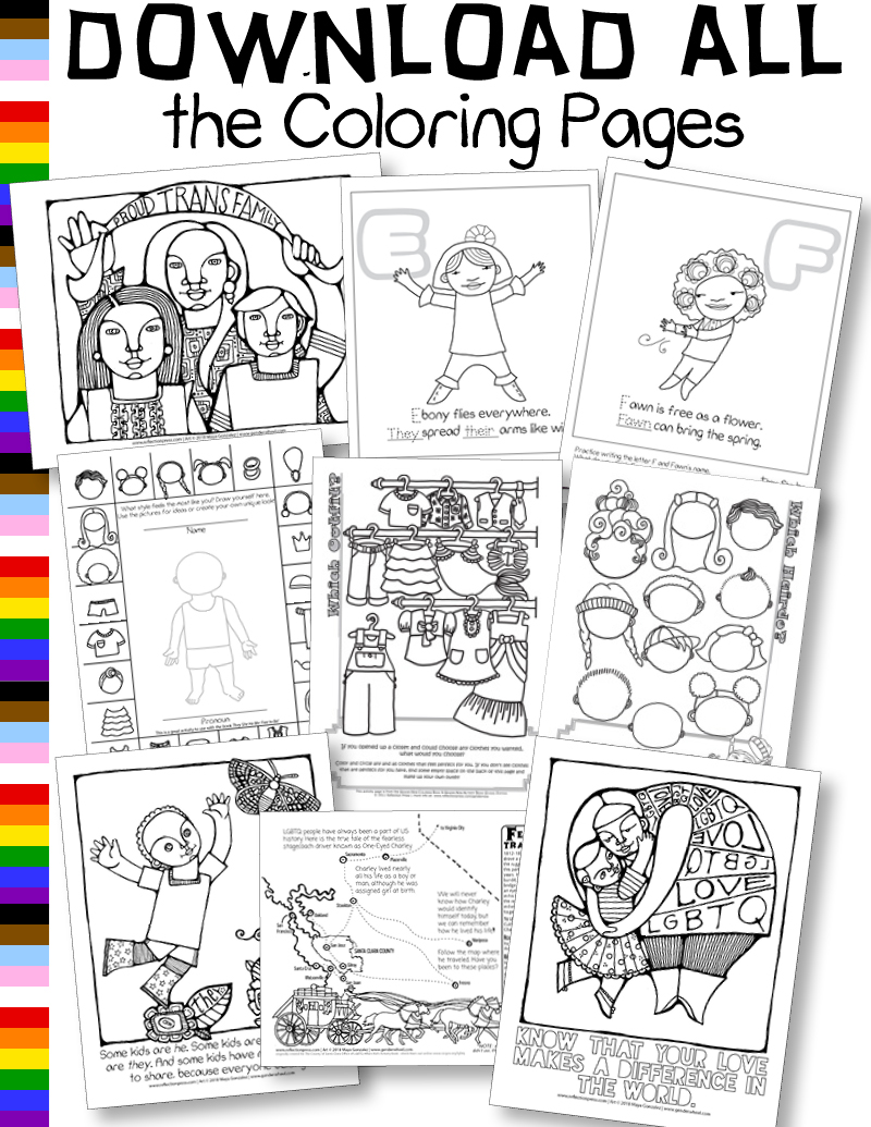 Download all the Coloring Pages