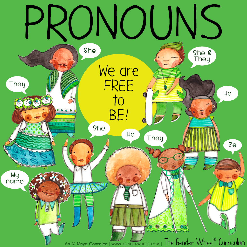 Understanding Pronouns - The Gender Wheel Curriculum