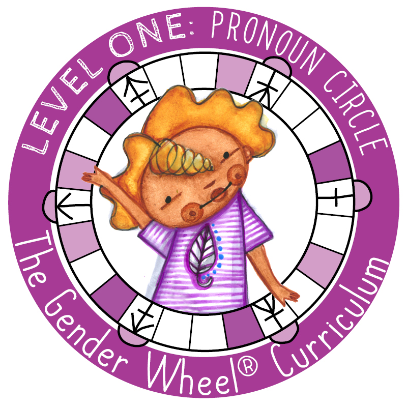 Level ONE: Pronoun Circle - The Gender Wheel Curriculum
