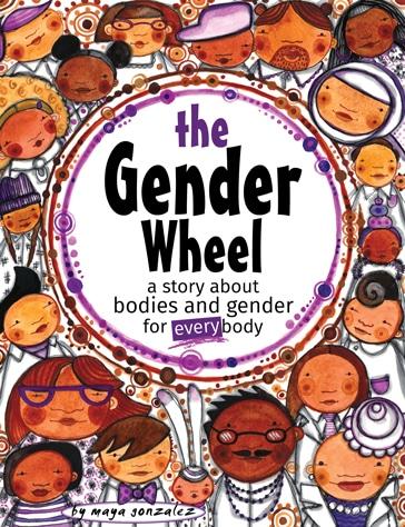 The Gender Wheel by Maya Gonzalez