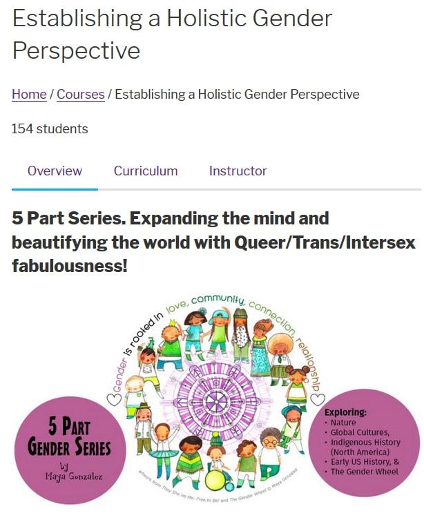 5 Part Gender Series Online Course