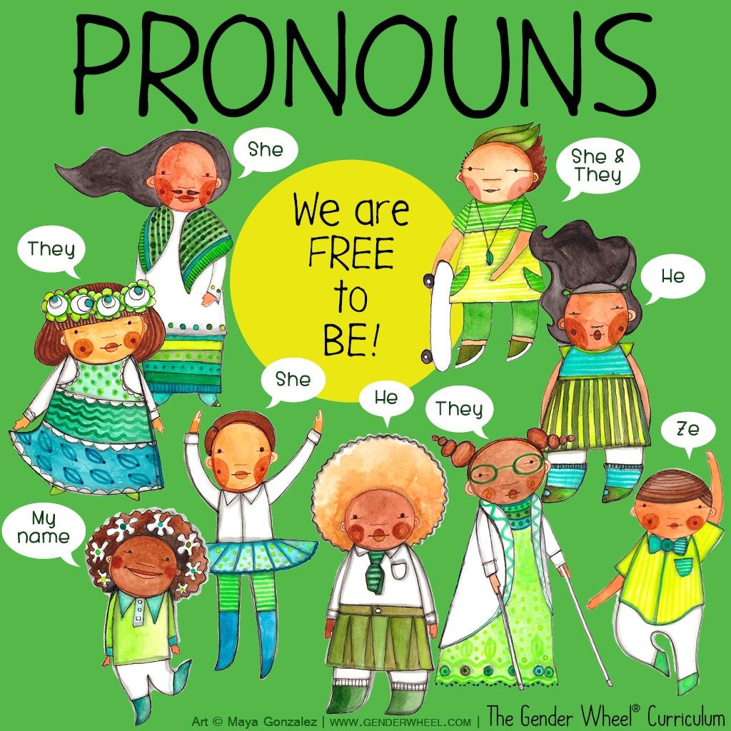 Understanding Pronouns - The Gender Wheel Curriculum